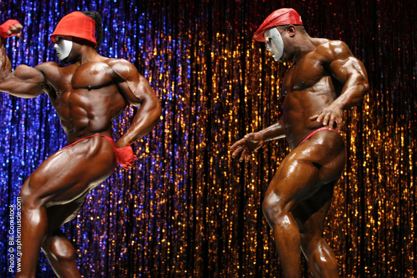 Kai Greene a Rodney St Cloud
