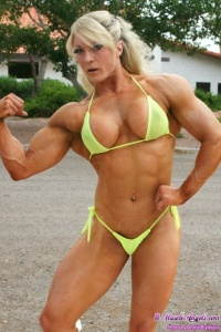 Lisa Cross Bodybuilderka