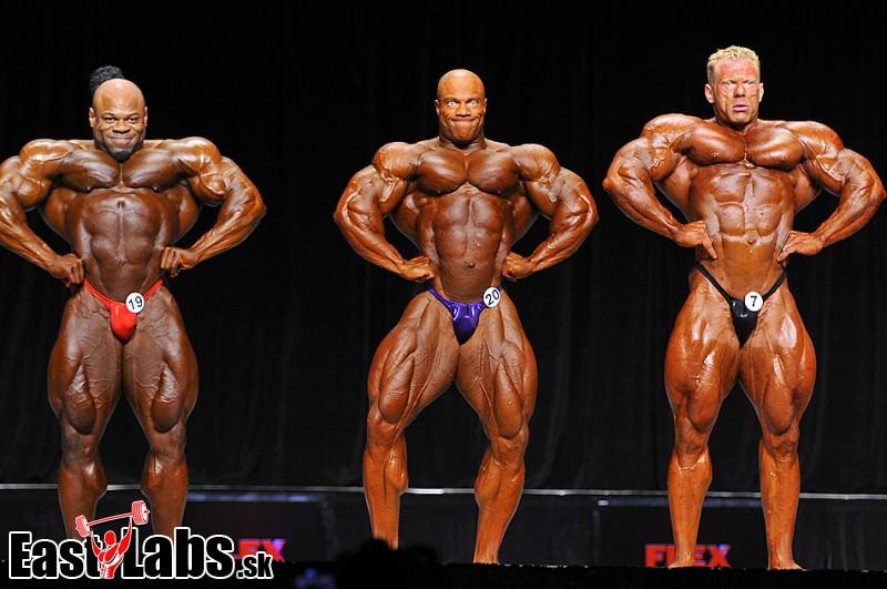 Ronnie.cz - Kai Greene, Phil Heath, Dennis Wolf