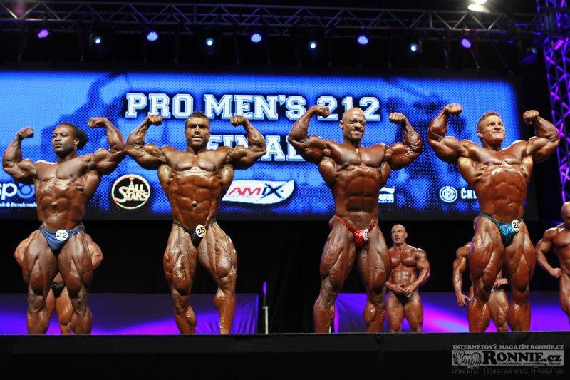 "William Bonac, Eduardo Correa, Sami al Haddad, James ""Flex"" Lewis"
