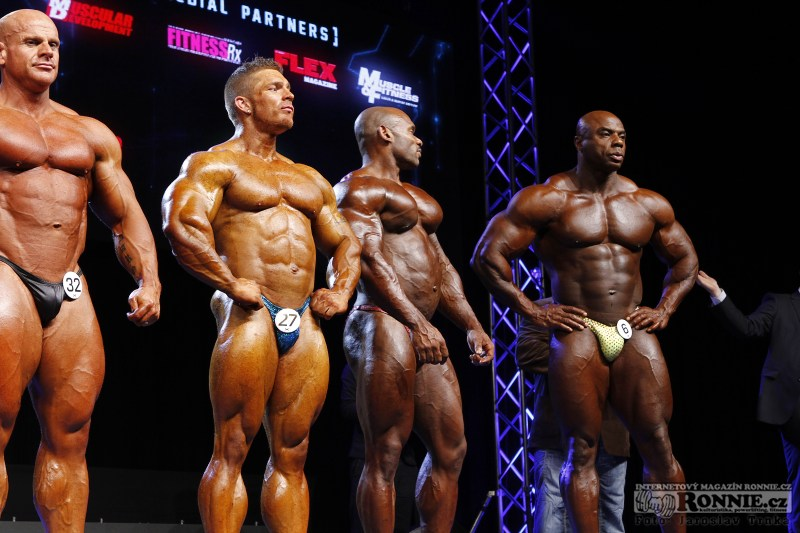 "Lee Powell, James ""Flex"" Lewis, Fred Smalls, Toney Freeman"