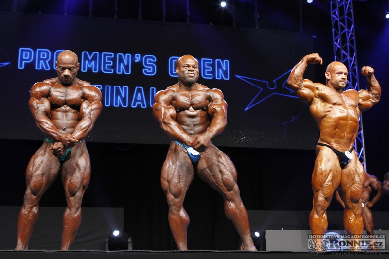 Dexter Jackson, Kai Greene, Branch Warren