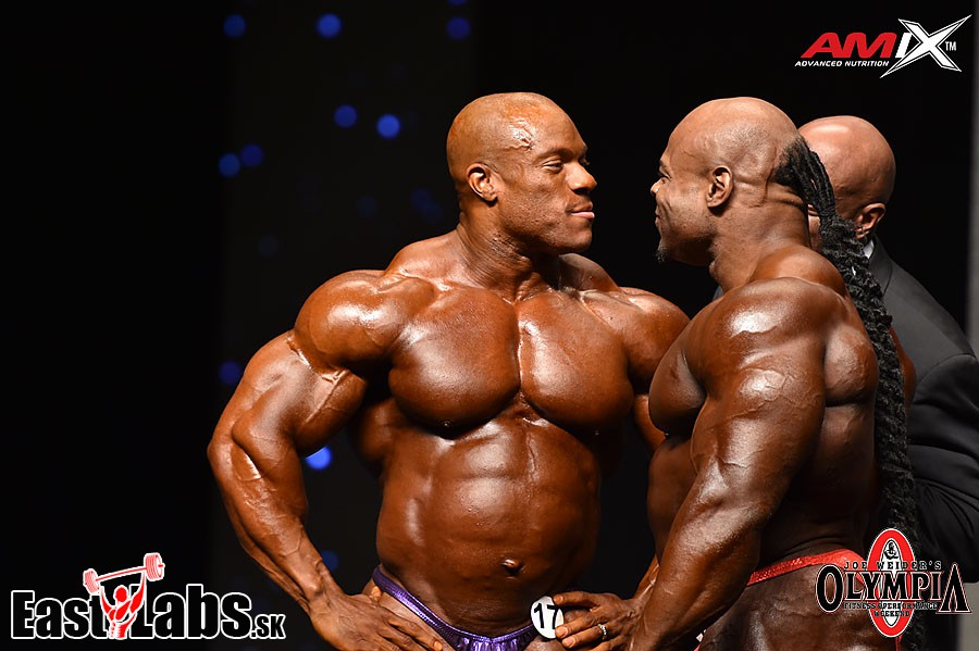 Phil Heath, Kai Greene