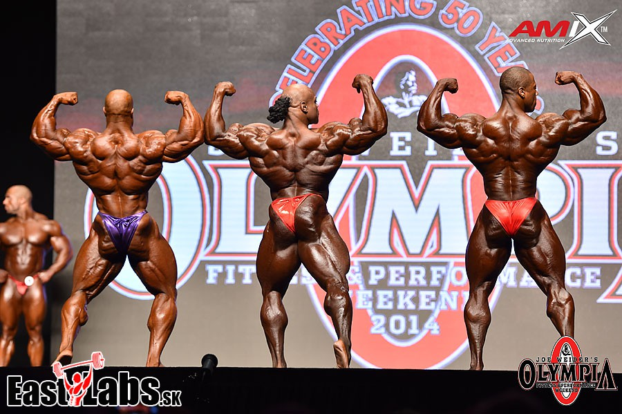Phil Heath, Kai Greene, Shawn Rhoden